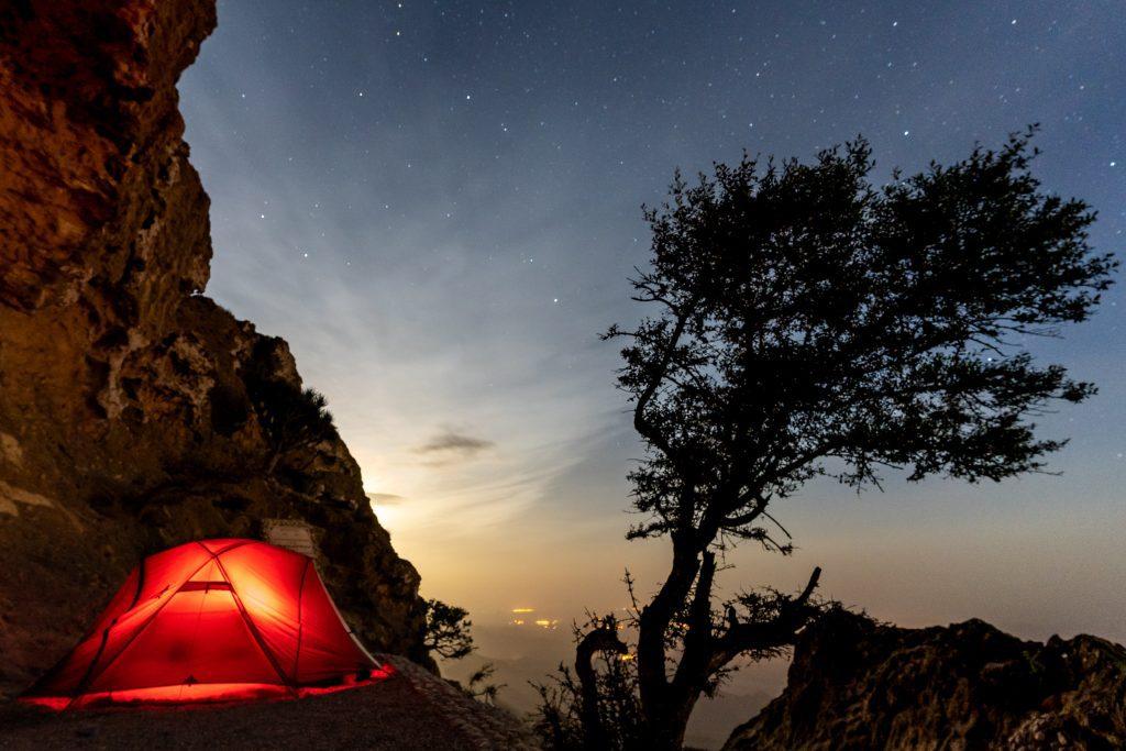 kamperen Dhofar Oman