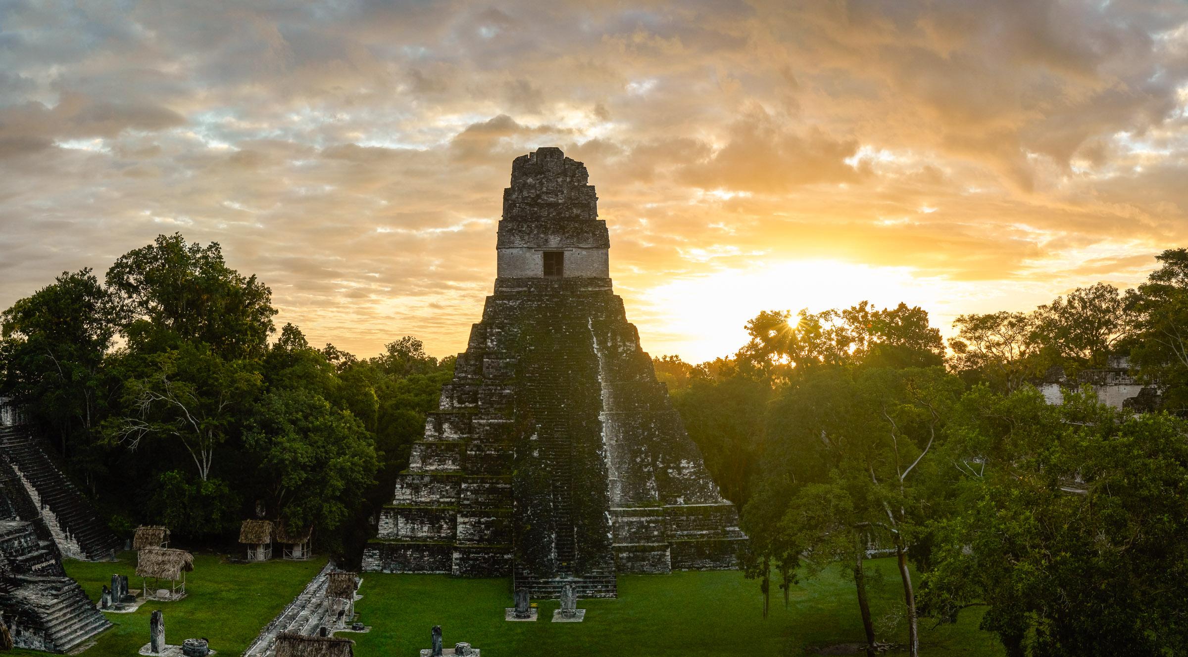 Maya tempel Tikal